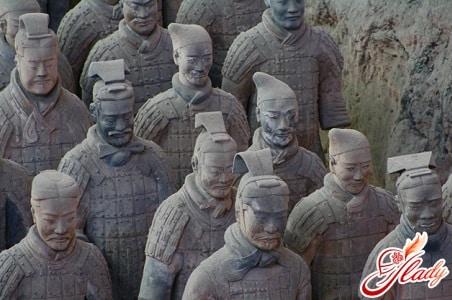 терракотовая армия китая