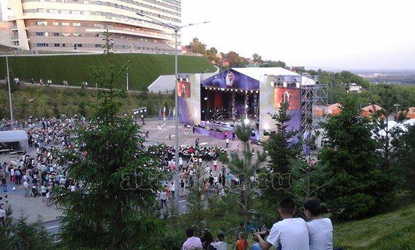 Фестиваль в амфитеатре уфимского Конгресс-холла