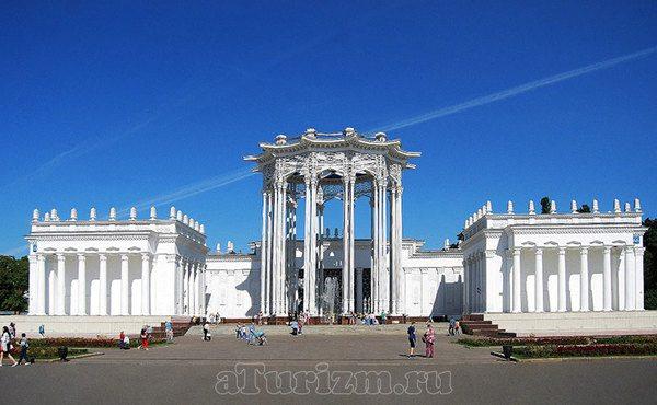 Павильон Узбекской ССР (Культура)