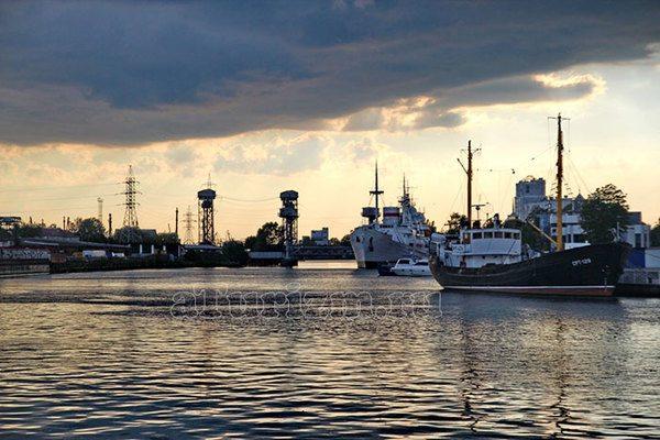 Балтийский порт Музей Мирового океана