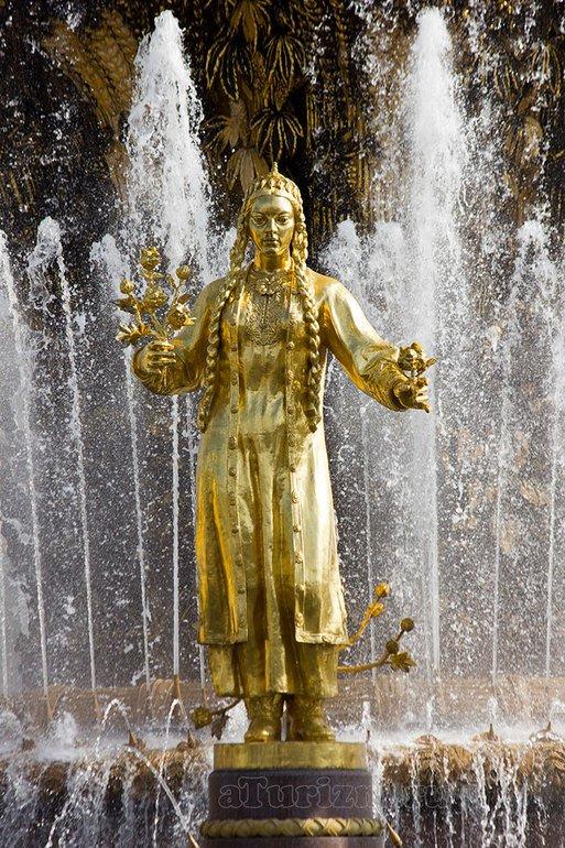 ВДНХ фонтан