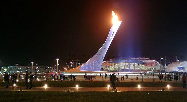 Спортивные сооружения Олимпиады в Сочи