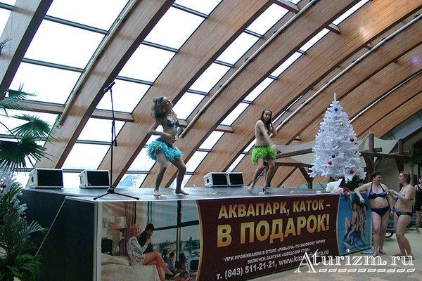 Новый год в аквапарке
