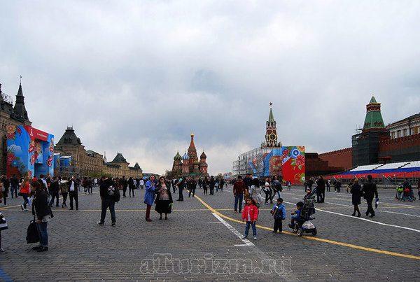 Красная площадь фото