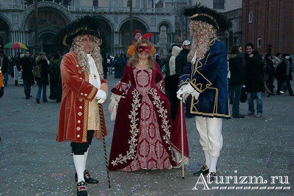 Венецианский карнавал фото