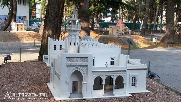 Парк «Крым в миниатюре» в Алуште