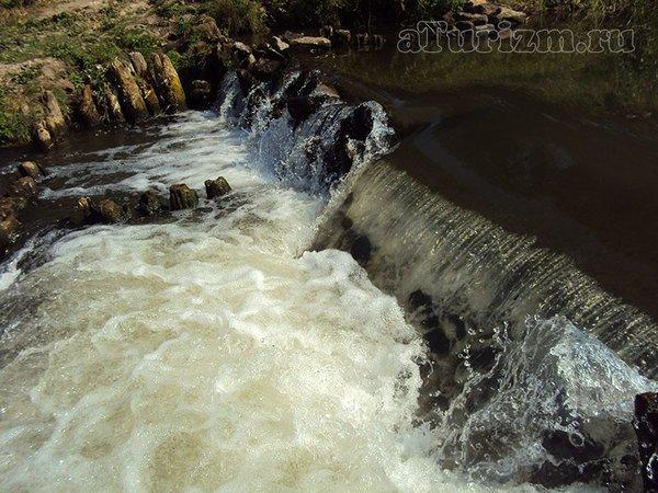 Рязанский водопад