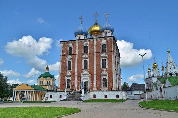 Рязанский Кремль Успенский собор
