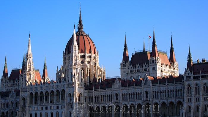 Будапешт-здание-венгерского-парламента