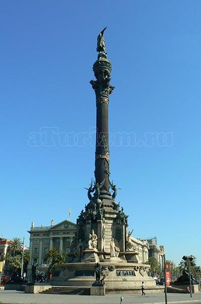 Монумент Христофору Колумбу фото