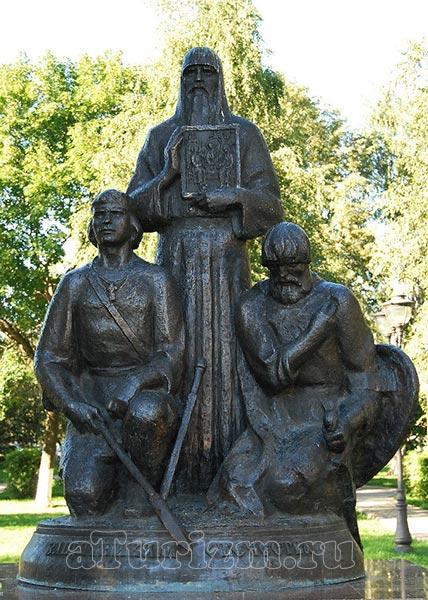 Памятник Шилову Никону и Слоту Петру