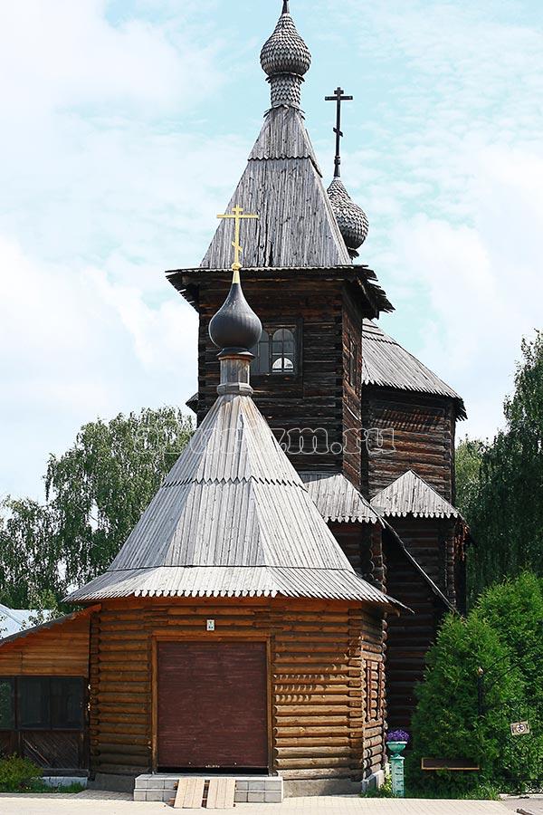 Церковь Сергия Радонежского фото