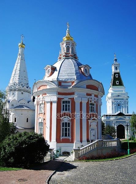 Церковь преподобных Зосимы и Савватия фото