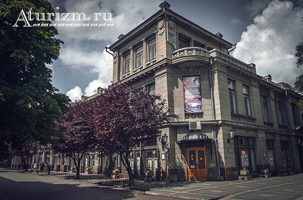 Крымский академический русский драматический театр фото