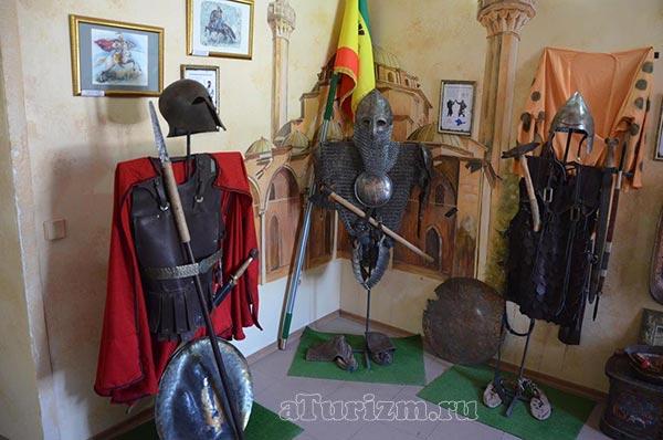 Текие-дервишей,-музей,-доспехи-древних-воинов