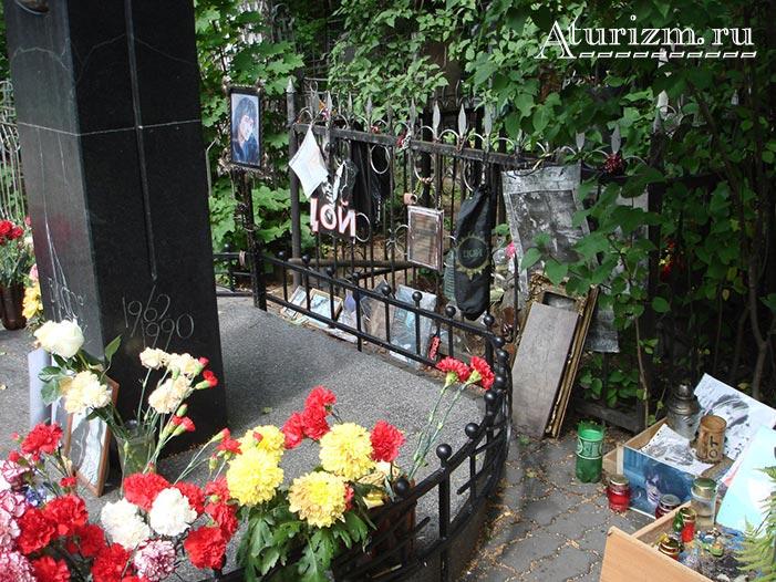 Богословское кладбище. Могила Виктора Цоя