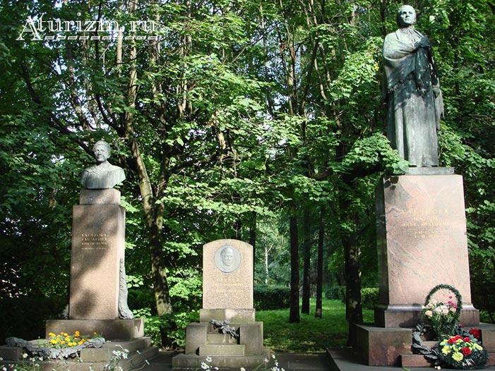 Волковское кладбище и Литераторские мостки