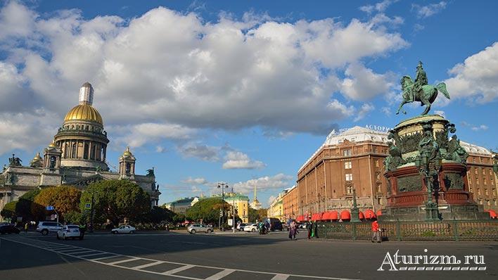Исаакиевская площадь и Исаакиевский собор