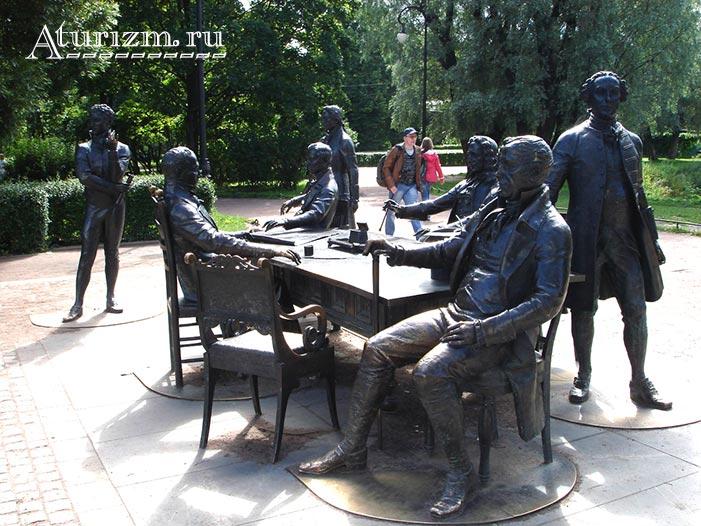 Памятник зодчим Санкт-Петербурга